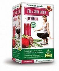 HERBEX Fit&Slim Drink + Psyllium 16x6g