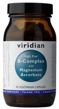 High Five B Complex with Magnesium Ascorbate 90 kapslí