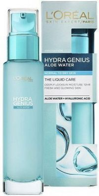 Hydratační pleťová péče pro každodenní použití pro normální až suchou pleť Hydra Genius (Liquid Care Daily Moisturiser)