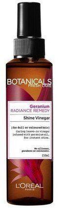 Hydratační sprej pro lesk vlasů Botanicals (Radiance Remedy Shine Vinegar) 150 ml