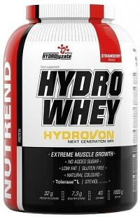 HYDRO WHEY, 1600 g, jahoda