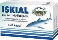 Iskial olej ze žraločích jater cps.120
