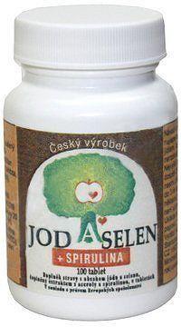 Jod-Selen+Spirulina tbl.100 Bolid