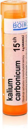 Kalium Carbonicum CH15 gra.4g
