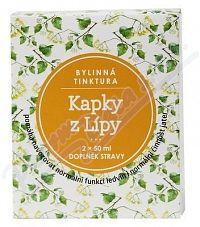 Kapky z Lípy bylinná tinktura 2x50ml