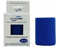 KinesioMAX Cohesive elast.samofix.7.5cmx4.5m modré