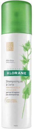 KLORANE Suchý šampon kopřiva pro tm.vlasy 150ml