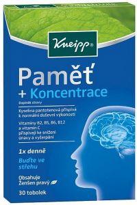 Kneipp Pamět + Koncentrace cps.30