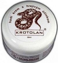 Krotolan hadí krém s hřejivým účinkem 50ml