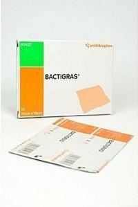 Krytí Bactigras antisept.s mastí 10x10cm/10ks