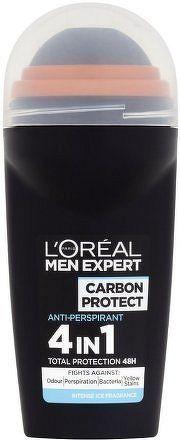 Kuličkový antiperspirant pro muže Carbon Protect 50 ml
