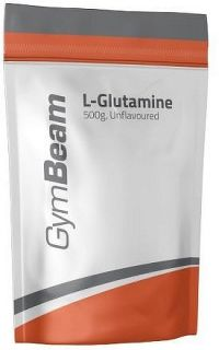 L-Glutamin - GymBeam unflavored - 1000 g