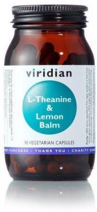 L-Theanine & Lemon Balm 90 kapslí