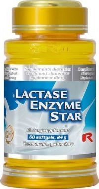 Lactase Enzyme Star 60 sfg