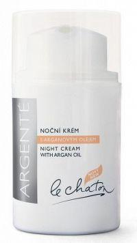 LE CHATON Krém noční s arganovým olejem 50g