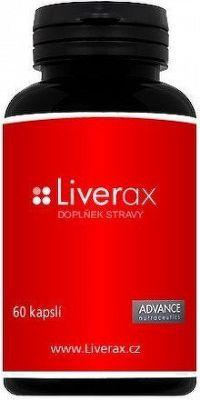 Liverax 60 cps. - detoxikace jater