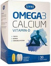 LYSI Omega-3 + D a Calcium 30 denních dávek
