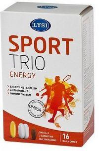 LYSI S3 Sport Trio 16 denních dávek