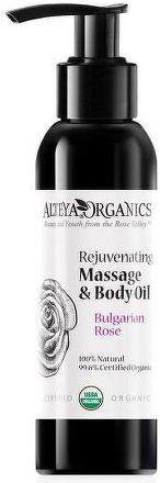 Masážní tělový olej omlazující z růže Alteya 125 ml