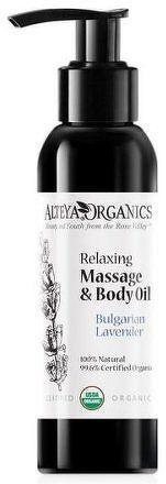 Masážní tělový olej relaxační z levandule Alteya 125 ml