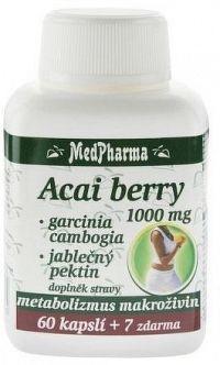 MedPharma Acai berry 1000 mg + Garcinia cps.67