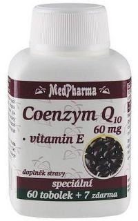 MedPharma Coenzym Q10 60mg forte tob.67