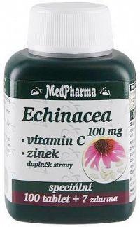 MedPharma Echinacea 100mg+vit.C+zinek tbl.107