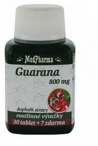 MedPharma Guarana 800mg tbl.37