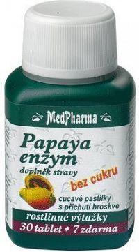 MedPharma Papaya enzym chew.tbl.37