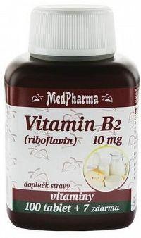 MedPharma Vitamín B2 tbl.107