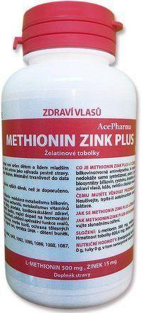 Methionin zink PLUS cps.100x500/15
