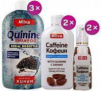 Milva Chininovo-kofeinový balíček