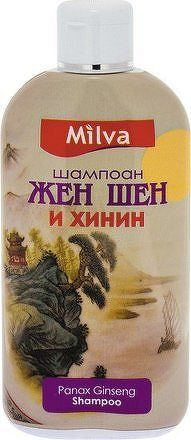 Milva Šampon na vlasy ženšen a chinin 200ml