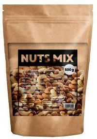 Mix přírodních ořechů unflavored - 500 g
