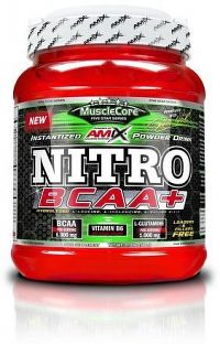 MuscleCore Nitro BCAA 500g green apple