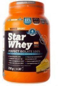 NAMEDSPORT Star Whey  PERFECT ISOLATE 100%, 750 g, cheesecake citronový