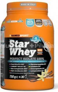 NAMEDSPORT Star Whey  PERFECT ISOLATE 100%, 750 g, vanilka