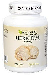 Natural Medicaments Hericium 500mg cps.90