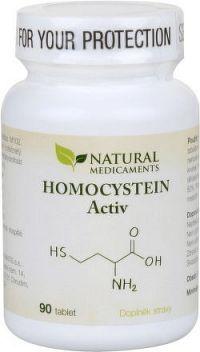 Natural Medicaments Homocystein Activ tbl.90