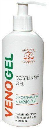 NATURFYT Venogel masážní gel 200ml