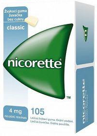 Nicorette Classic Gum 4mg orm.gum.mnd.105x4mg