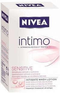 NIVEA INTIMO sprch.emulze SENSITIVE 250ml č.81051