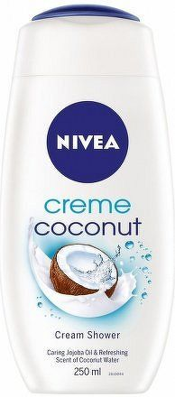 NIVEA Sprchový gel COCONUT CREAM 250ml 83606