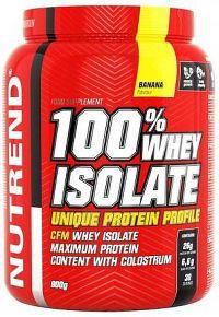 NUTREND 100% Whey Isolate banán 900g