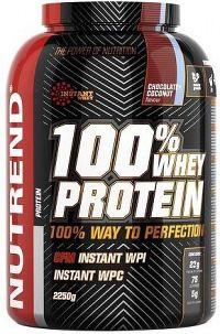 Nutrend 100% Whey Protein 2,25kg jahoda