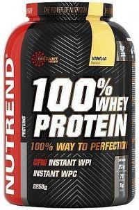 NUTREND 100% Whey Protein 2250g vanilka