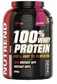 NUTREND 100% Whey Protein malina 2250g
