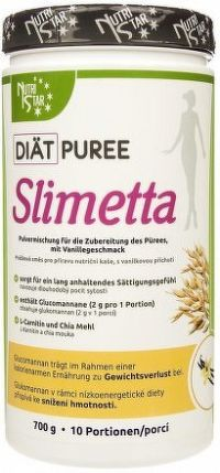 NUTRISTAR Diät Puree SLIMETTA kaše 700g - vanilka