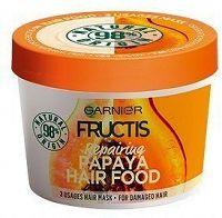 Obnovující maska na poškozené vlasy Fructis (Papaya Hair Food) 390 ml
