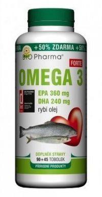 Omega 3 Forte 1200mg tob.90+45 Bio-Pharma